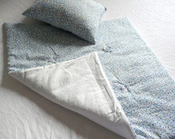 Plaid-quilts-quilt - small quilt - 65 x 65 cm for cot, ideal as a gift from birth by