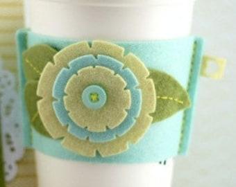 Handmade Cup Sleeves, Felt Cup Cozy, Felt Coffee Cozy, Felt Coffee Sleeves, Felt Coffee Cup Sleeves, Felt Cup Sleeves, Hot Cup Sleeves