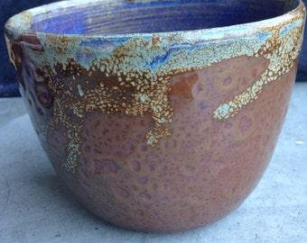 Golden Ceramic Bowl