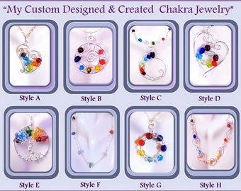 chakra necklaces,chakra jewelry,Mothers gift,Mothers jewelry ,wife gift,Rainbow jewelry,chakra earrings,mother daughter jewelry