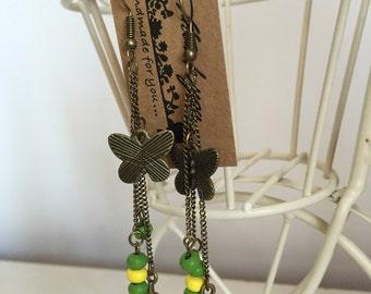 """Handmade Earrings """"Butterfly"""""""