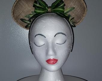 Jungle Cruise Adventureland Inspired Minnie Mouse Ears Headband