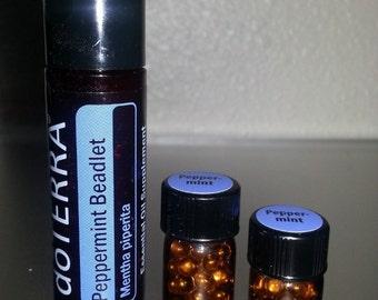 doTERRA Peppermint Beadlets Essential Oil *SAMPLE* of 18 Beadlets or 30 Beadlets