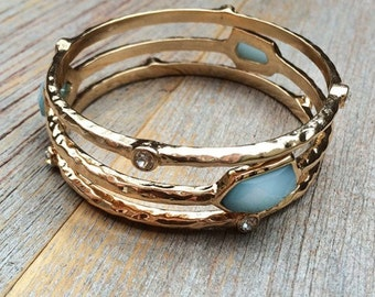 Sticks and Stones bangles in Blue