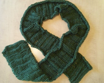 Eco-friendly Woodland Green All Weather Scarf