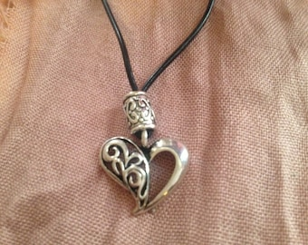 heart necklace valentine jewelry valentines day gift heart jewelry