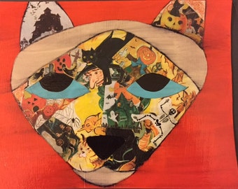 Halloween-Point Siamese (face)
