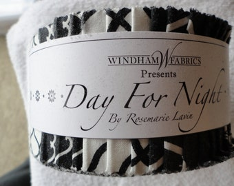 Day For Night Jelly Roll by Rosemarie Lavin for Windham Fabrics