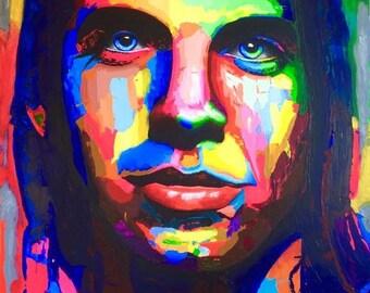 Anthony Kiedis Print