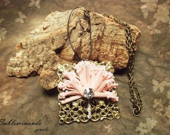 Little Tree necklace with small sapling