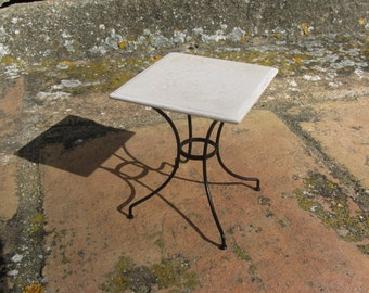 square bistro table (1/12 miniature)