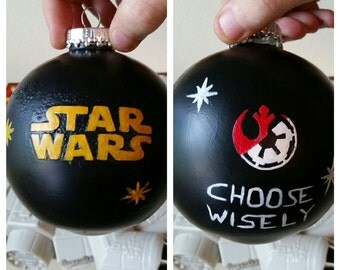 Star Wars Choose Wisely Ornament