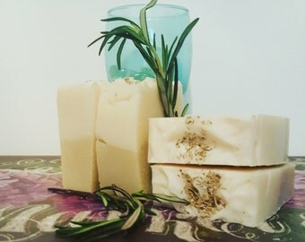 Rosemary & Peppermint  Handmade Soap Cold Pressed