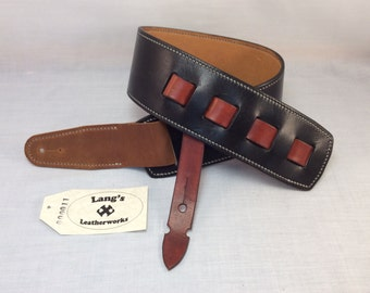 Handmade Leather Guitar Strap, leather guitar strap, guitar strap, guitar sling