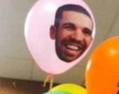 Drake Pink Balloons