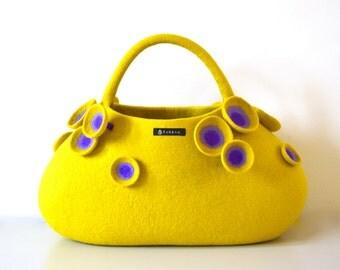 Sea aneone big bag * yellow