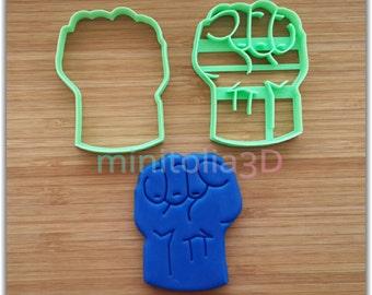 Hulk Cookie Cutter