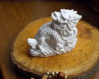 Handmade sculpture of Dragon, Sculpture for Coloring, Dragon sculpture, Custom Work, KidsColoring3D