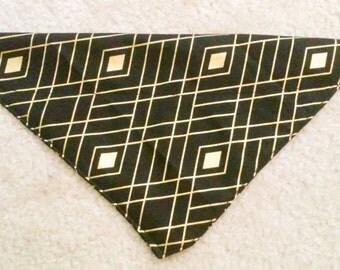 Gold Diamond bandanna