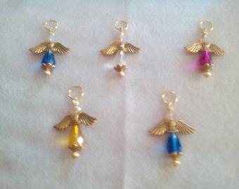Crystal Angel Pendant