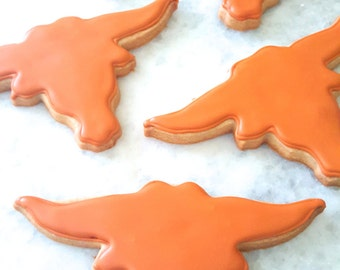 University of Texas Longhorns Sugar Cookies