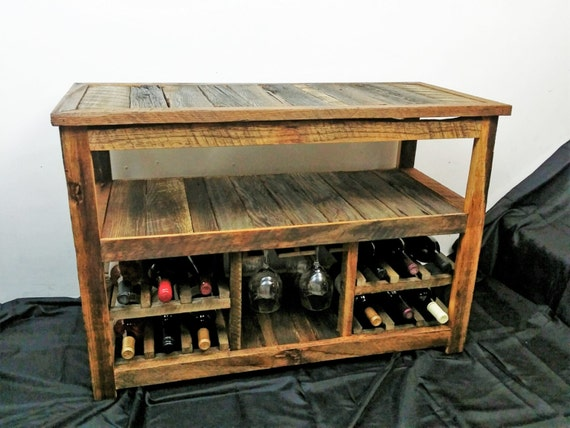 Rustic Tv Stand Or Sofa Table Rustic Wood Barn By