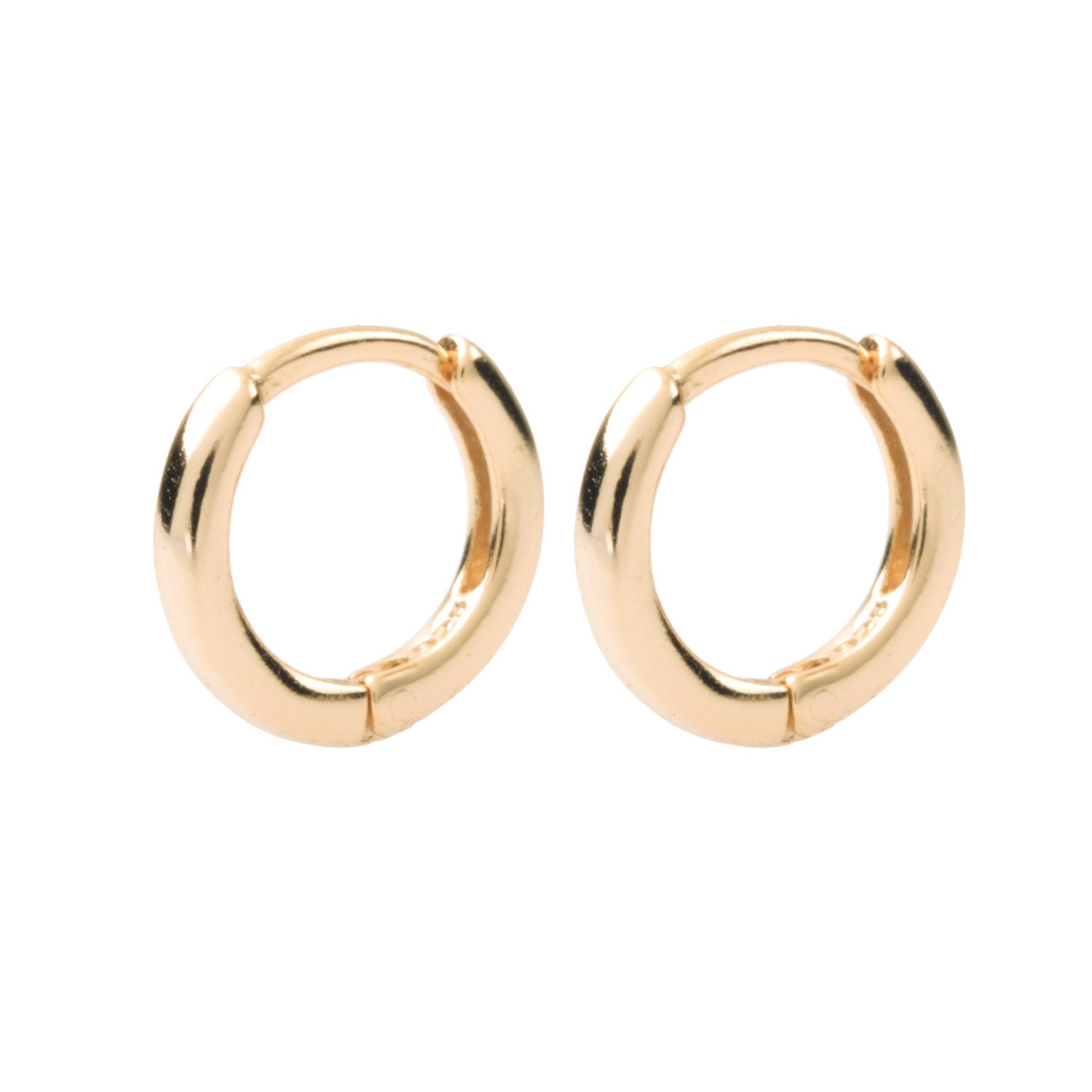 small hoop earrings tiny gold hoops dainty earrings
