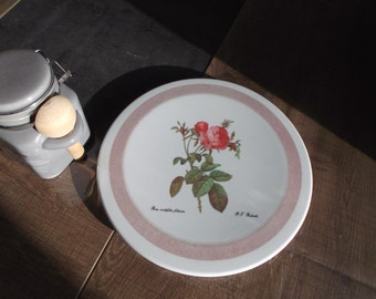 trivet with a rose