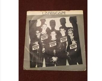"Landscape Norman Bates 7"" Single Vinyl Record Music"