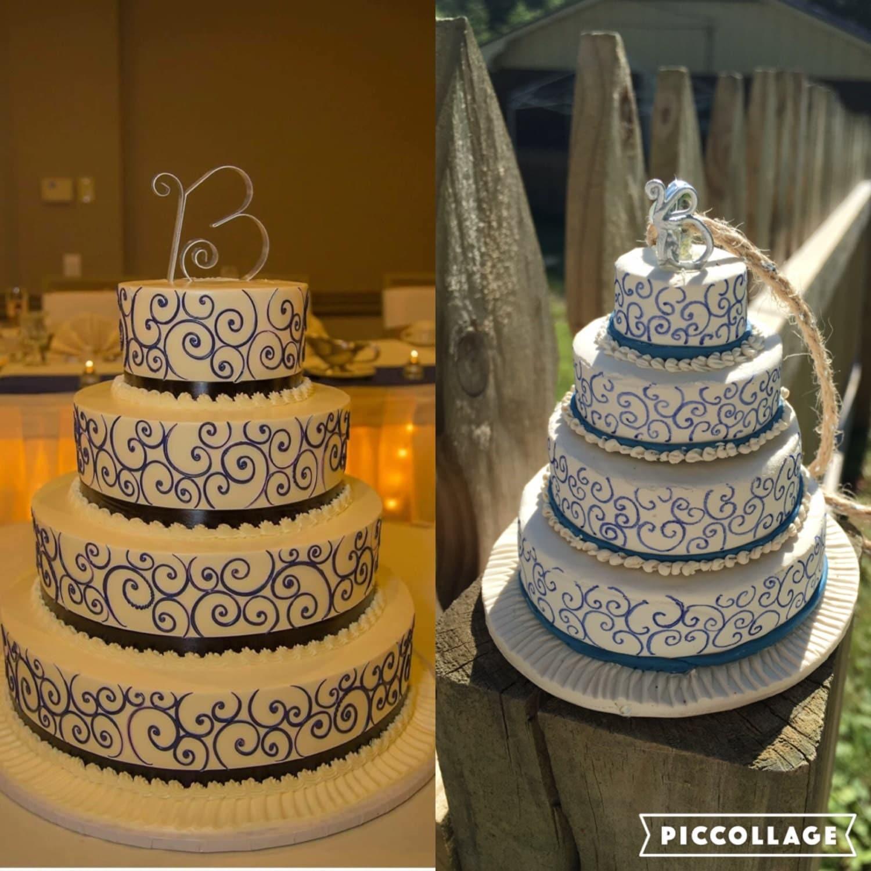 Ornament Wedding Cake Replica