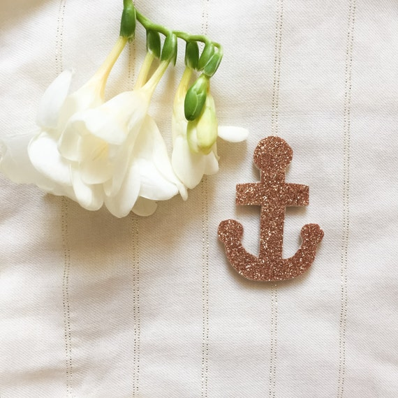 PIN anchor Marine - Or pink - Hand Made - La Rochelle