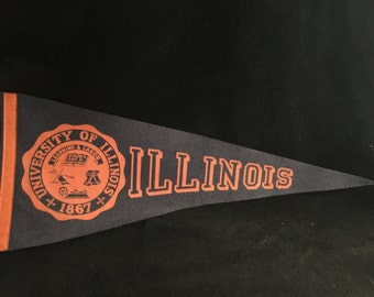 University of Illinois Pennant