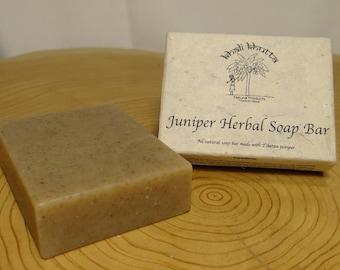 Tibetan Juniper Herbal Soap Bar.