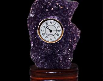 Clock Amethyst