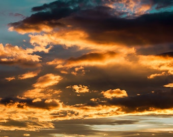 Clouds - Clouds Photo - Sky - Sky Photography - Sky Photo - Sunshine - Digital Photo - Digital Download - Instant Download - Wall Decor