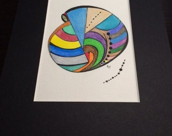 Abstract Drawing--Nautilesque
