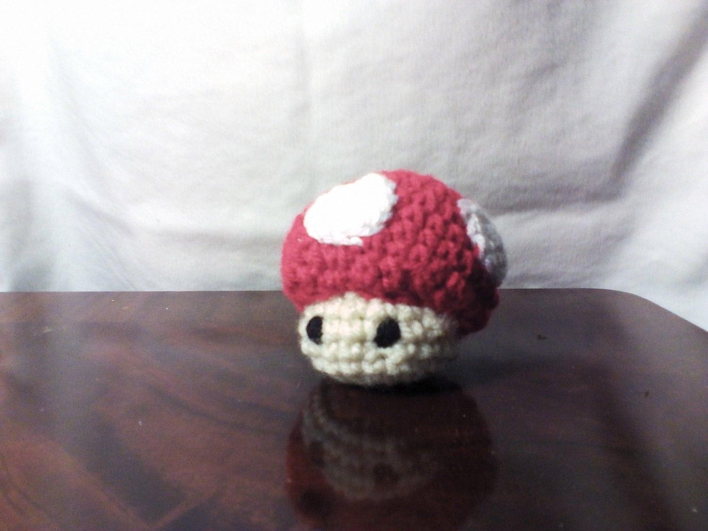 Amigurumi Mario Mushroom by PeppermintPanic on Etsy
