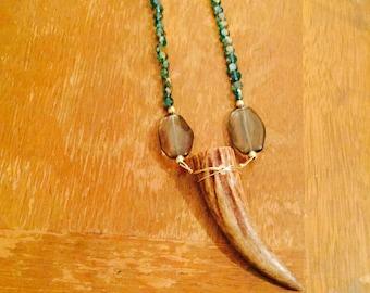 Lovely Laney Horn Necklace