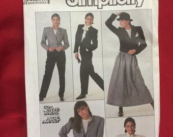Simplicity Pattern 8247 Size 12 Uncut Go Everywhere              [lotOWWH]