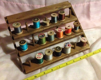 Vintage sewing thread stand!
