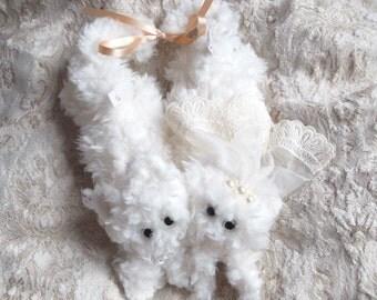 tortoi wedding kitten -fluffy stuffed toy- トーティ社 tortoi