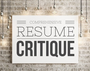 comprehensive resume critique resume review resume editing certified professional resume writer cprw. Resume Example. Resume CV Cover Letter