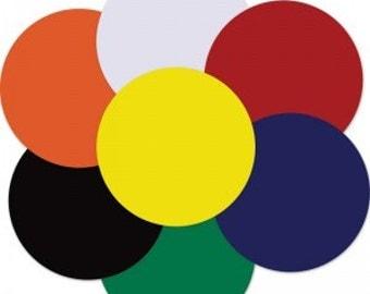 Vinyl circles