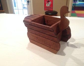 Hardwood Duck Storage Box