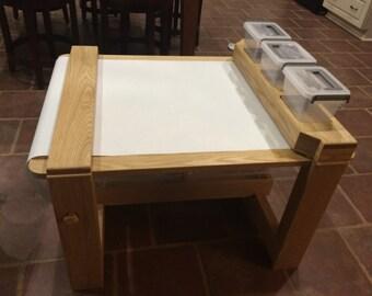 Tiny-Tot Activity Table
