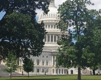 Capitol Building, Washington, DC. 8x10 print