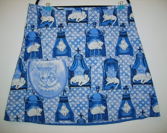Size 16 Cool Cotton Crazy Cat Lady Skirt