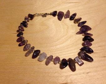 Amethyst Chocker Necklace