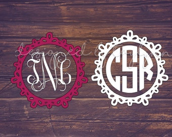 Monogram Decal, Car Decal, Monogram Decal, Vinyl Monogram, Yeti Decal, Preppy Decal, Monograms, Bridesmaid Gifts, Birthday Gifts, Initials