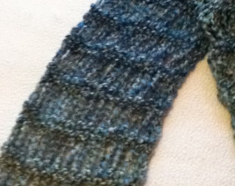 Ombré scarf, long,lacey,lightweight